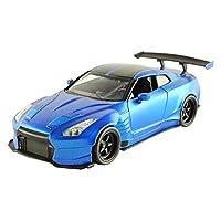 Jada Toys - 98271BL - Nissan GT-R35 - 2012 Ben Sopra - Fast and Furious - Echelle 1/24  -  Bleu