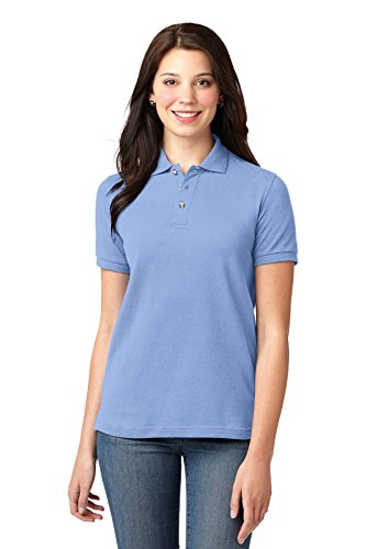 Port Authority Women's Pique Knit Polo XS Light -