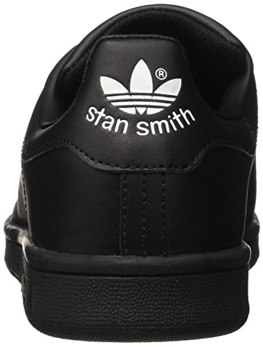 Adidas Stan Smith, Unisex-Kinder Sneakers Schwarz/Blau/Weiß