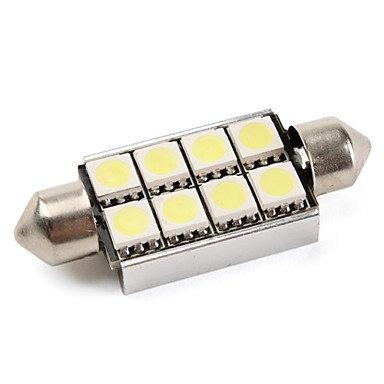 K-NVFA canbus del adorno 42mm 1.5W 8x5050 smd LED blanco luces del coche de señal (DC 12V) KK-V- 4125 KAOV 8291985028222