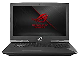 "ASUS ROG G703GI-XS71(i7-8750H, 16GB RAM, 256GB NVMe SSD + 2TB SSHD, NVIDIA GTX 1080 8GB, 17.3"" Full HD 144Hz 3ms, Windows 10 Pro) VR Ready Gaming Notebook"