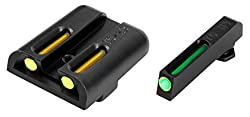 Truglo Tfo Handgun Sight Set - Glock Low - Greenyellow Rear