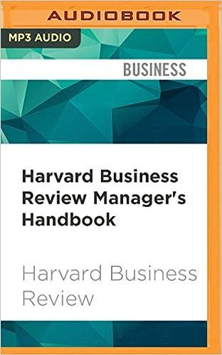 Amazon Com Harvard Business Review Manager S Handbook The 17