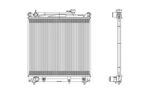 chevy tracker radiator - 8