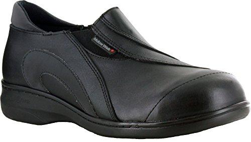 Mellow Walk Daisy Chaussures En Cuir Noires Pour Femmes Noires