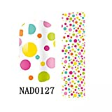 1 Pack Pretty Nail Art Stickers 3D Colorful Manicure Multi Mix Style Code NAD0127