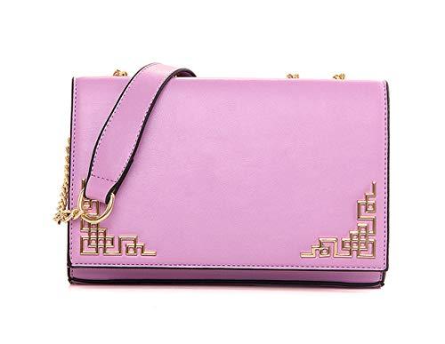 mano Carteras Shoppers DEERWORD Bolsos y hombro clutches Púrpura de Mujer y bolsos bandolera de 1wAZqv