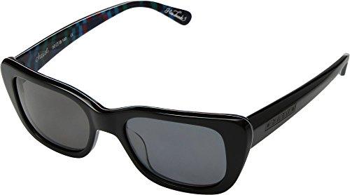 RAEN Optics Unisex Chaise Black Cosmic/Smoke One - Sunglasses Zeal Warranty