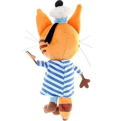 Cat Korzhik Three Cats Russian Plush Toy Stuffed Animal Original Licensed Sounds: Toys & Games