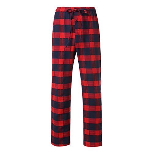 WOCACHI Pajama Pants for Mens, Fashion Men's Casual