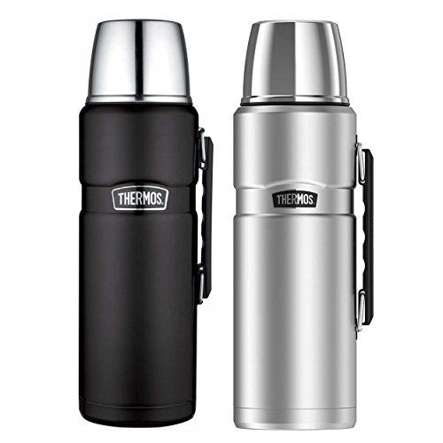 Thermos Stainless King 68 Ounce Vacuum Insulated Beverage Bottle 2PK by Thermos
