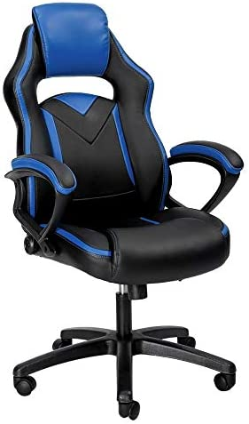 PC Gaming Chair Racing Executive Office Chair Ergonomic High Back Reclining Computer Chair with Arm Rest Tall Comfortable for Adults Teens Kids