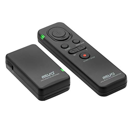 Revo VRS-Multi-W Wireless Multi-Interface Remote Shutter Release and Camera Control for Sony Cameras and Camcorders - Sony Digital Camera Remote Shutter Controller for Zoom, Video, Photo and More by Revo