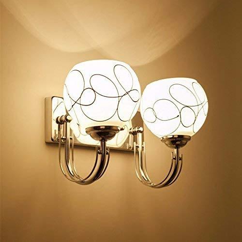 37 Oudan Die Nachttischlampe Wandleuchte Wand Schlafzimmer Modern, minimalistischen American Creative Lounge Continental Treppe, Lampe, LED Street 4 (Farbe   72)