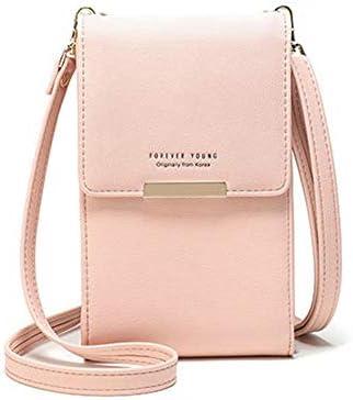 5.5インチの携帯電話の女性のPUのパーソナライズされた財布かわいいクロスボディバッグの電話袋 YZUEYT
