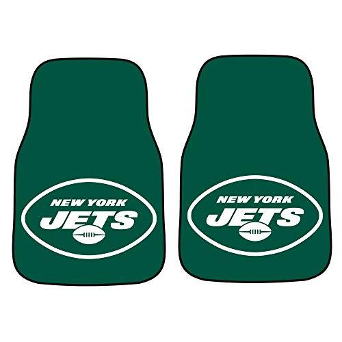 - FANMATS NFL New York Jets Nylon Face Carpet Car Mat