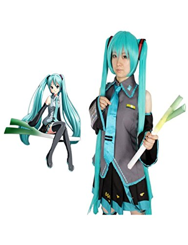 Ainiel Unisex Cosplay Costume Dress Full Set with Wigs (M) ()