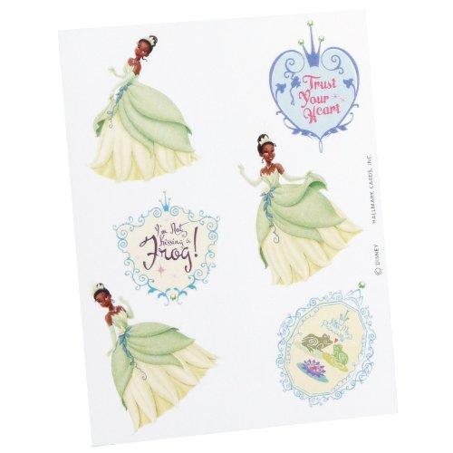Hallmark - Princess and the Frog Tattoos (2 sheets) Frog Tattoos