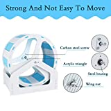 Hamiledyi Silent Hamster Exercise Wheel, Cage