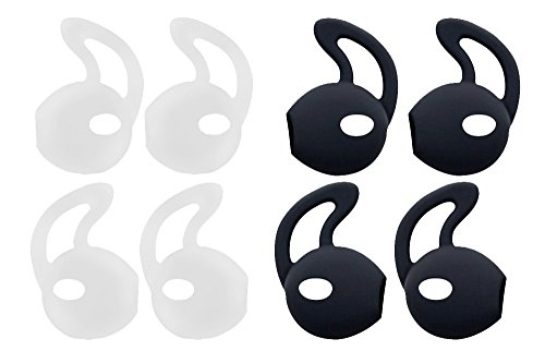 (Earplus Earpod Cover for Apple AirPods EarPods - Secure Fit Grip Compatible with iPod touch nano, shuffle, iPhone Earphone Earbuds Headphones - Perfect For Running Exercise Gym and Sports)