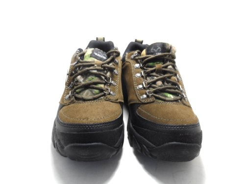 Realtree Outfitters Men-s Prism Low Hikers Brown Size 10M NEW!