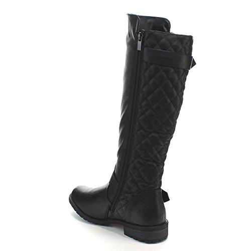JJF Schuhe für immer Link Mango-21 Lady Boot Schwarz