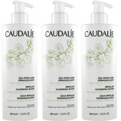 Caudalie Cleansing Water 400ml Pack of 3pcs by Caudalie
