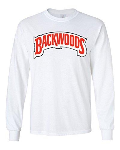 - RIVEBELLA Shirt Backwoods Mens Long Sleeve T-Shirt