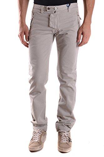 Daniele Alessandrini Homme MCBI086366O Gris Coton Pantalon