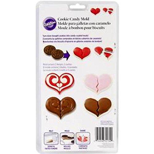 (Wilton Hearts Cookie Candy Mold)