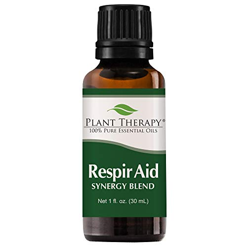 Plant Therapy Respir Aid Synergy Essential Oil 30 mL (1 oz) 100% Pure, Undiluted, Therapeutic ()