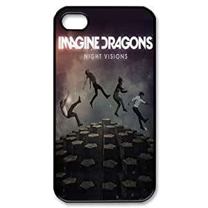 THYde EVA Imagine Dragons iPhone 4/4s Case,Snap-On Protector Hard Cover for iPhone 4/4s ending