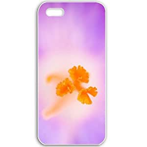 Apple iPhone 5 5S Cases Customized Gifts For Flowers crocus heuffelianus flower Flowers Black