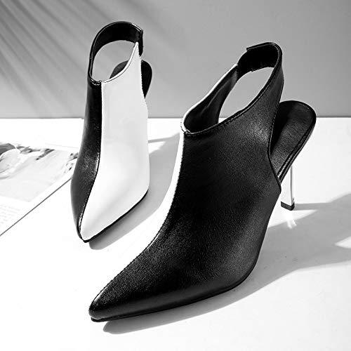 MENGLTX High Heels Heels Heels Sandalen 2019 Neueste Frauen Pumpt Spitze Einzigartige High Heels Frau Sommer Slip Auf Slingback Kleid Schuhe Damen Büro Schuhe B07QLVHDXH Sport- & Outdoorschuhe Primäre Qualität 7b2d43