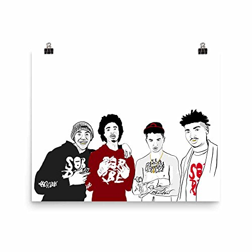 Babes & Gents SOB x RBE daboii Poster (8×10 to 24×36) (8×10)