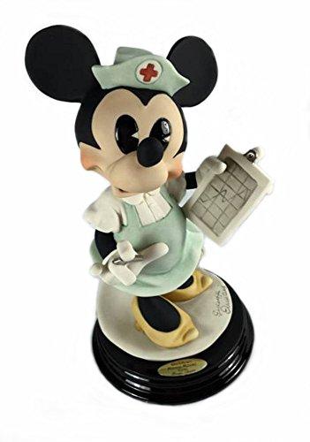 Retired Giuseppe Armani Walt DisneyMinnie Mouse Nurse Art Piece