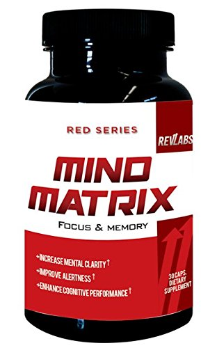 Revlabs  Mind Matrix  Memory  Focus   Clarity Formula   Nootropic Scientifically Formulated For Optimal Performance
