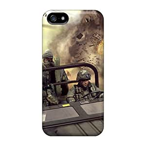 Defender Case For HTC One M8 Cover , Bad Company 2 Hq Games Pattern