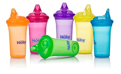 Nuby No Spill Dual Flo Valve Colors