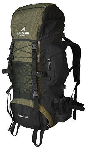 Teton Sports Scout 3400 Internal Frame Backpack; High-Performance Back... - 41mdlsUP2mL