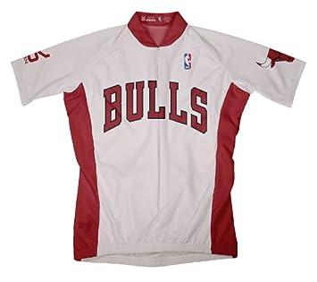 NBA CHICAGO BULLS camiseta de manga corta ciclismo Jersey - OLP1000, Blanco: Amazon.es: Deportes y aire libre