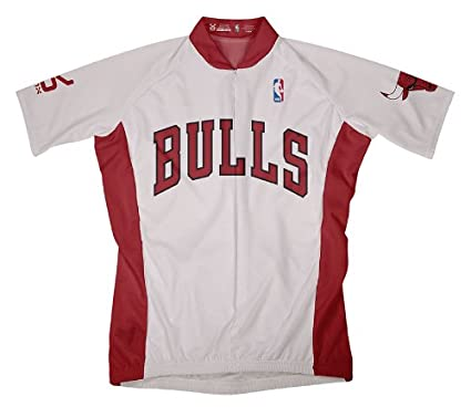 Amazon.com   NBA Chicago Bulls Men s Short Sleeve Cycling Home ... 29f3605f2