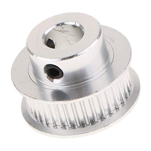 - nouler Juler 2 Piece Aluminum Alloy Gt2 36 Tooth Timing Belt Pulley 6 Mm Belt 3D Printer Accessories 8 Mm Hole