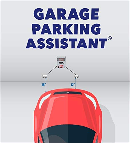 Garage Parking Assistant - Park your vehicle precisely and consistently. Large Digital Display to show the distance from the wall - No more scratched bumper ! by LogicXYZ (Image #1)