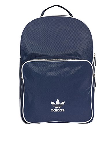 Adidas Originals Unisex Classic Unisex Navy Backpack Polyamide by adidas Originals