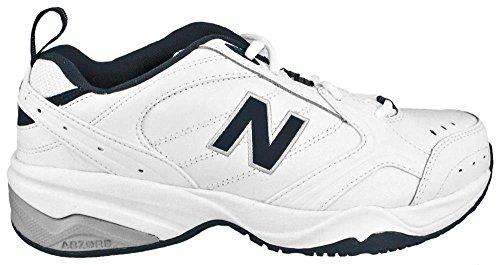New Balance MX624 Men's Crosstrainer, Size: 8.5 Width: D Color: White/Navy