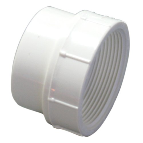 - NIBCO 4803-2 Series PVC DWV Pipe Fitting, Adapter, 2