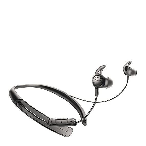 Bose QuietControl 30 Wireless Headphones 1 Breakthrough technology lets you control your own level of noise cancellation throughout your day Bluetooth and NFC pairing so you can connect to your devices wirelessly Volume-optimized EQ gives you balanced audio performance at any volume