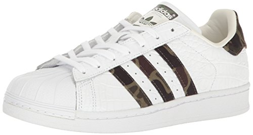 - adidas Originals Men's Superstar Fashion Running Shoe, White/Black 1 / Legacy, 10 D(M) US