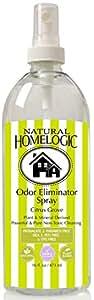 Natural HomeLogic Eco Friendly Odor Eliminator Spray - 16 fl. oz (1 Pack, Citrus Grove)